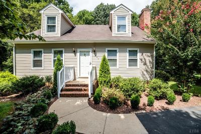 Lynchburg Single Family Home For Sale: 1809 Heritage Circle