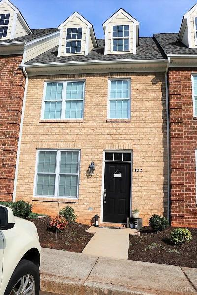 Lynchburg Condo/Townhouse For Sale: 824 Wiggington Road #102