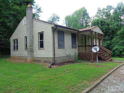 Single Family Home For Sale: 607 Robinson Gap Road