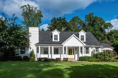 Lynchburg Single Family Home For Sale: 1445 Trents Ferry Road
