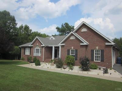 Bedford County Single Family Home For Sale: 1481 Lake Shore Drive