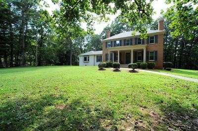 Evington, Rustburg, Lynchburg Single Family Home For Sale: 572 Campbell Highway