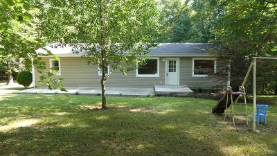 Amherst Single Family Home For Sale: 1557 Sugar Hill Tunnel Road