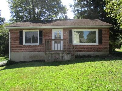 Bedford County Single Family Home For Sale: 1470 Mtn View Heights