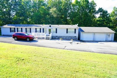 Bedford County Single Family Home For Sale: 1738 Shiloh Church Road