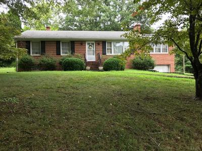 Amherst VA Single Family Home For Sale: $179,900