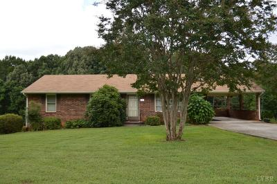 Bedford Single Family Home For Sale: 2204 Virginia Byway