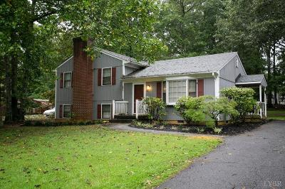 Forest VA Single Family Home For Sale: $189,900