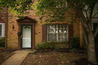 Lynchburg Condo/Townhouse For Sale: 102 East Cadbury Drive