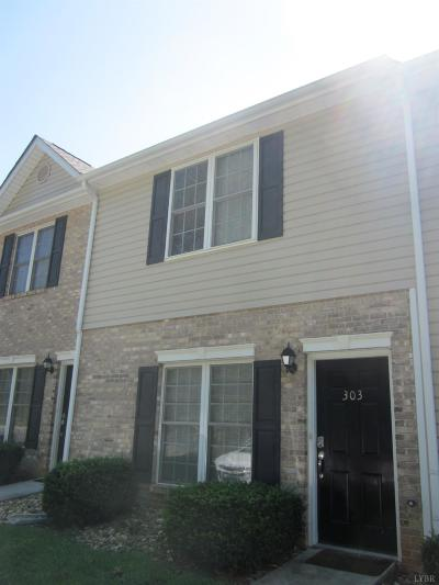 Lynchburg VA Condo/Townhouse For Sale: $126,900