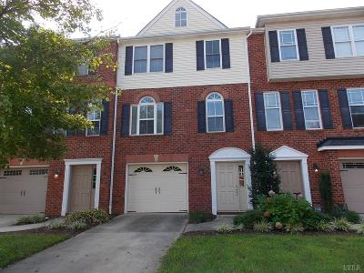 Lynchburg VA Condo/Townhouse For Sale: $168,000