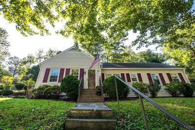 Lynchburg Single Family Home For Sale: 224 Kensington Avenue