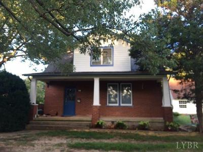 Amherst VA Single Family Home For Sale: $219,500