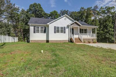 Spout Spring VA Single Family Home For Sale: $194,900