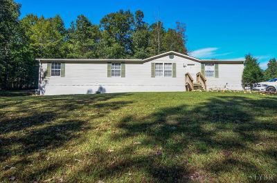 Single Family Home For Sale: 588 Round Mountain Loop