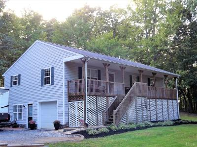 Evington VA Single Family Home For Sale: $189,900