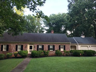Lynchburg County Single Family Home For Sale: 3134 Sedgewick Drive