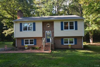 Forest VA Single Family Home For Sale: $192,500