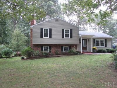 Forest Single Family Home For Sale: 106 Minuteman Drive