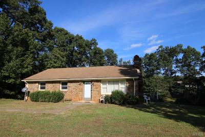 Amherst VA Single Family Home For Sale: $149,900
