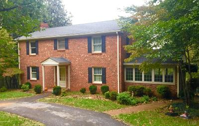 Lynchburg County Single Family Home For Sale: 234 Chesterfield Place