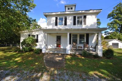Lynchburg County Single Family Home For Sale: 312 Old Graves Mill Road