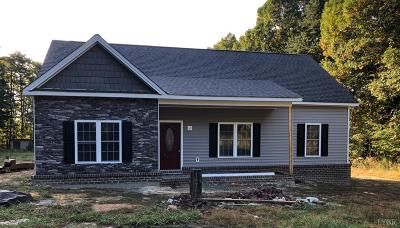 Evington, Rustburg, Lynchburg Single Family Home For Sale: 2810 Browns Mill Rd
