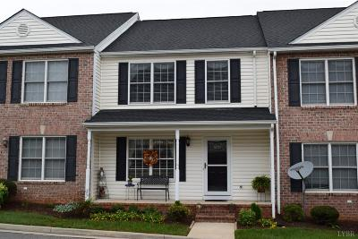 Lynchburg VA Condo/Townhouse For Sale: $178,250