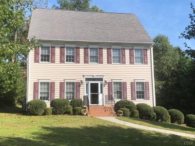 Lynchburg Single Family Home For Sale: 304 Wild Turkey Road