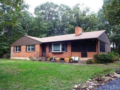Bedford County Single Family Home For Sale: 2130 Flint Hill Road
