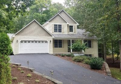 Huddleston VA Single Family Home For Sale: $319,000
