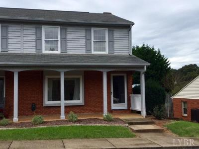 Lynchburg VA Condo/Townhouse For Sale: $129,900