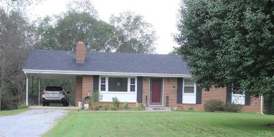 Bedford VA Single Family Home For Sale: $164,900