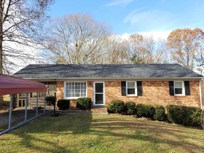 Madison Heights VA Single Family Home For Sale: $158,500