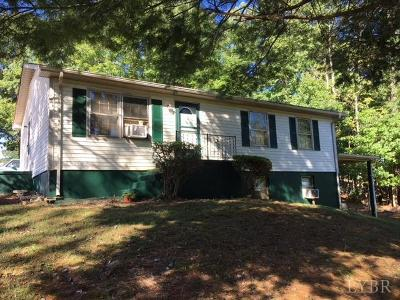 Amherst VA Single Family Home For Sale: $115,000