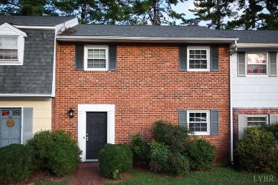 Lynchburg VA Condo/Townhouse For Sale: $94,900