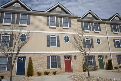Lynchburg VA Condo/Townhouse For Sale: $169,000