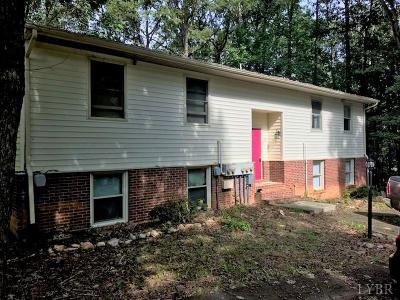 Forest Multi Family Home For Sale: 1162 Rolling Hills Drive