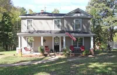 Huddleston VA Single Family Home For Sale: $140,000