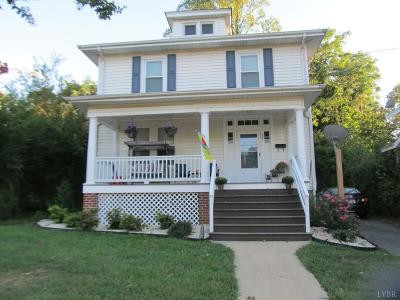 Lynchburg VA Single Family Home For Sale: $157,000