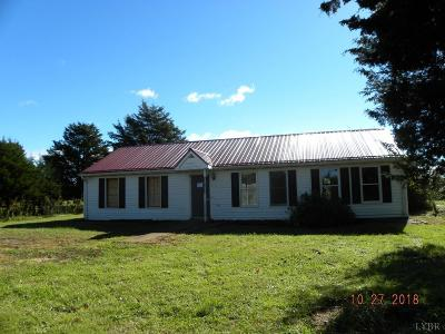 Campbell County Single Family Home For Sale: 3558 Lambs Church Road
