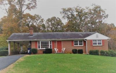 Forest VA Single Family Home For Sale: $159,900