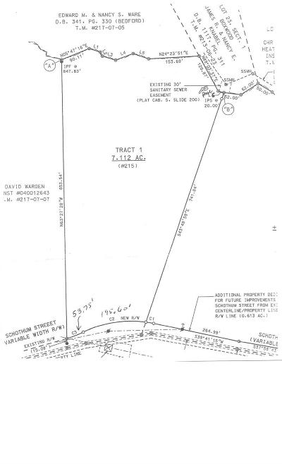 Lynchburg County Residential Lots & Land For Sale: 215 Schothum Street