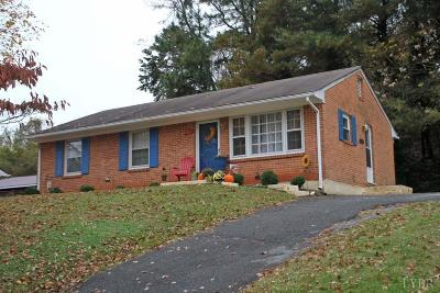 Bedford County Single Family Home For Sale: 1011 Bowling Drive