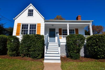 Lynchburg Single Family Home For Sale: 412 Warren Avenue