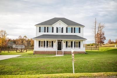 Rustburg VA Single Family Home Pending: $224,900