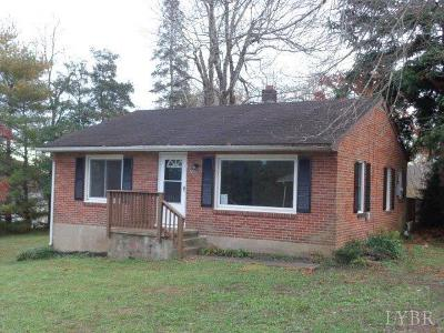 Bedford County Single Family Home For Sale: 1470 Mountain View Heights Road