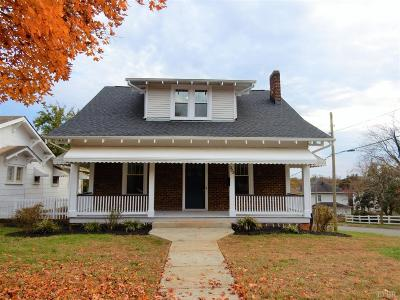Lynchburg Single Family Home For Sale: 323 Yeardley Avenue