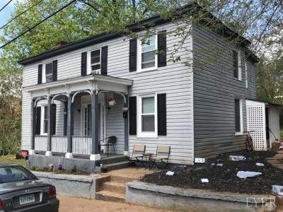 Lynchburg Single Family Home For Sale: 613 8th Street