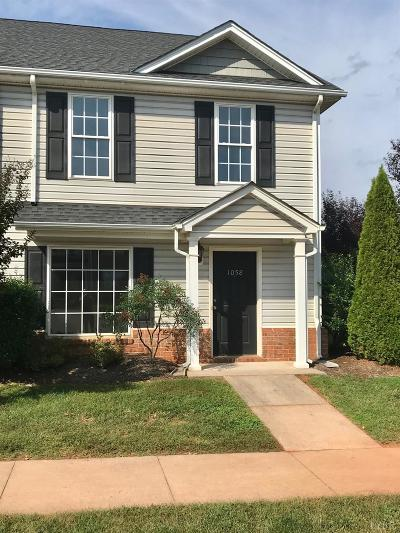 Bedford County Condo/Townhouse For Sale: 1058 Haymore Drive